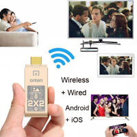 HDMI WiFi Stick Dongle Adapter For Samsung Huawei Xiaomi iOS Android Phone to TV