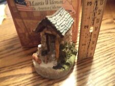 Maurice Wideman American Collection Milkhouse Ac-043 John Hines in Box Signed
