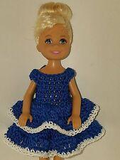 Handmade Chelse/Kelly mattel doll clothes - Blue