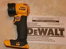 NEW DEWALT DCL040 20v Max CORDLESS LED WORKLIGHT