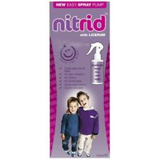 Nitrid Licerum 120ml Head Lice & Eggs Treatment Comb Inc Effective in 10 Minutes