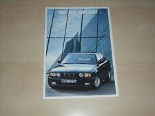 64960) BMW 5er Reihe E34 Prospekt 01/1988