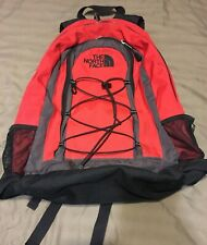 The North Face Jester Red, Gray & Black Backpack Bag