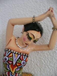 Toms Drag - handbemalte Balletttänzerin - 36 cm - Skulptur - sehr wertvoll