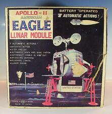 Daishin Japon tôle Space Apollo II American Eagle Lunar Modules dans O-Box #1213