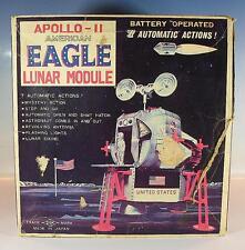 Daishin Japan Blech Space Apollo II American Eagle Lunar Module in O-Box #1213