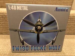 Franklin Mint 1:48 FW190 Focke Wulf, JG 54, WWII Aces - Quax, No. 98045
