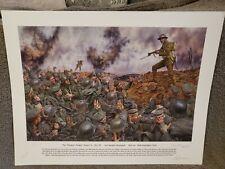 More details for ltd edition todger jones victoria cross cheshire regiment print with signatures