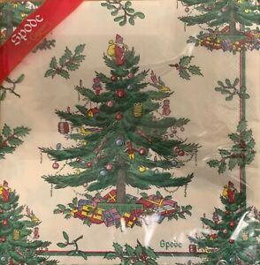 20 Spode Christmas Tree Paper Napkins 20cm x 20cm