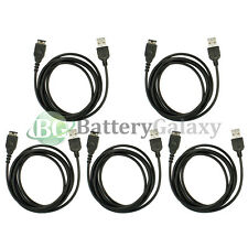 5 USB Battery Charger Data Sync Cable for Nintendo DS NDS Gameboy Advance GBA SP