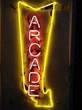 "New Arcade Arrow Beer Bar Neon Light Sign 24""x20"""