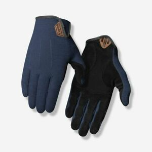 GIRO D'Wool Cycling Gloves MENS SMALL (7) 4X Suede Original Blue MTB/ROAD NEW
