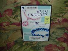 Bead Crochet (DVD) Flirty Flower Necklace & Tunisian Stitch Bracelet Blitz 2 dis