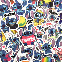 50Pcs/Set Classics Lilo Stitch Cute Stickers Pack Anime Sticker Cartoon