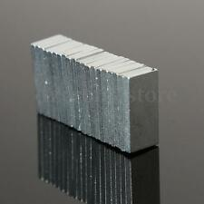 20 Pieza Bloque Imán Neodimio 10 x 5 x 1 mm Fuerza N42 Super Potentes Tremendo