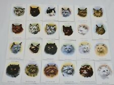 More details for rare cats john player victoria gallery 1936/1986 cigarette cards full set of 24