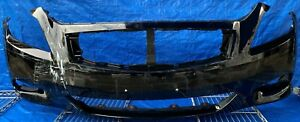 2011 - 2015 INFINITI G37 Q60 COUPE FRONT BUMPER COVER BLACK # MR3-FRC446