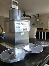 Robot Coupe Cl52 Benchtop Countertop Food Processor With 3 Disc Blades