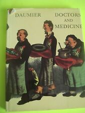 Doctors & Medicine Hardcover Book of Honore Daumier's Lithographs