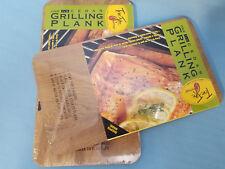 "2 - 7""x12"" Cedar Grilling Planks True Fire Gourmet Barbecue BBQ Smoky"