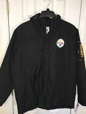 Pittsburgh Steelers ☝️NFL NWT Winter  Jacket  Size LG 🏈 Free Ship