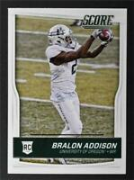 2016 Score #376 Bralon Addison RC - NM-MT