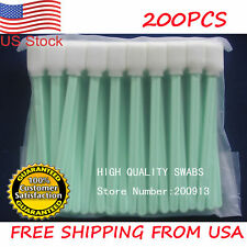 200 Solvent Cleaning Swab swabs for Large Format Roland Mimaki Mutoh Printers