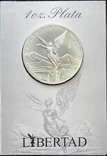 Mexico 1 oz Silver Libertad 2016 BU, in special Banco de Mexico packaging.