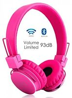 Volume Limited + Wireless Bluetooth Kids Headphones, Termichy Wireless/wired PC