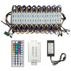 Store Front Lights RGB SMD5050 Window LED Light 100Ft 200Pcs 3 LED Module Light