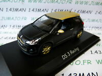 A VOITURE 1/43 NOREV : CITROËN DS 3 racing 2013 gold