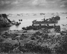 """US Forces building on Okinawa 8""""x 10"""" World War II WW2 Photo 423"""