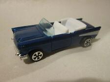 1979 Kidco Tough Wheels 1:60 Navy Blue '57 Chevrolet Chevy Car #151-4 Macao Mint