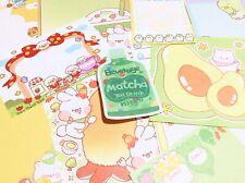 Green Stationery Set