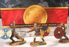 CONTE LTD. PEWTER  VIK001 VIKING FIGHTING SET MIB