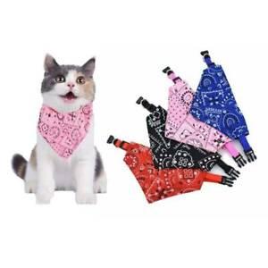 Adjustable Dog Bandana Collar Puppy Cat Neck Scarf Pet Grooming Triangle Scarf