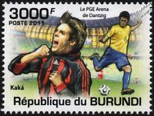 Kaka (el Kaká) (AC Milan & Brasil) sello de fútbol (PGE Arena Gdansk) (2011)