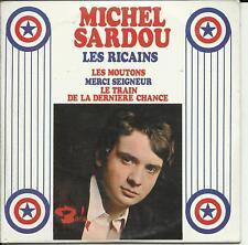 MICHEL SARDOU - LES RICAINS REPLICA EP / 4 TRACK CD SEALED MINT