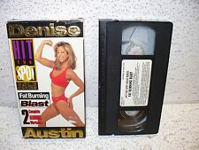 Denise Austin Hit the Spot Gold Series Fat Burning Blast Workout VHS Video