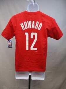New Houston Rockets #12 Dwight Howard Majestic Youth Large L Red Shirt MSRP $20