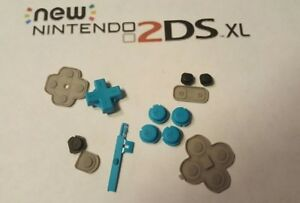 Nintendo New  2DS XL Blue Buttons Set Replacement Repair Part  OEM abxy volume +
