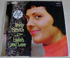KEELY SMITH I WISH YOU LOVE PROMO ALBUM 1957 MONO CAPITOL RECORDS T-914