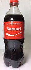 2017 Share a Coke With SAMUEL 20oz USA Limited Edition Coca-Cola Classic