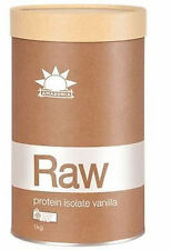 Raw Protein Isolate Flavoured 1kg by Amazonia Vanilla