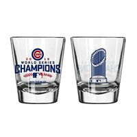 CHICAGO CUBS Clear 2016 World Champions SHOTGLASS  Boelter