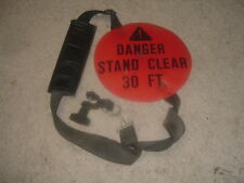 USED - GENERIC - TRIMMER - SHOULDER STRAP W/ MOUNTING BRACKET & QUICK RELEASE