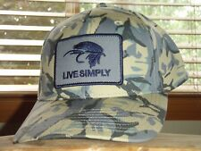 66079976858 Patagonia Live Simply Fly Roger That Hat Big Camo classic Tan Snap Back Cap