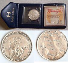 Medaglia Argento INTERCOINS Mondiali di Calcio Italia 1990