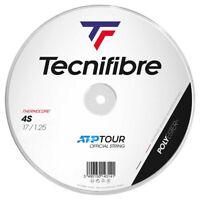 Tecnifibre BlackCode 4S 17 1.25mm Tennis String - 200M Reel
