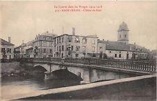 RAON l'ETAPE FRANCE~L'HOTEL du PONT~La GUERRE dans les VOSGES~1914 POSTCARD